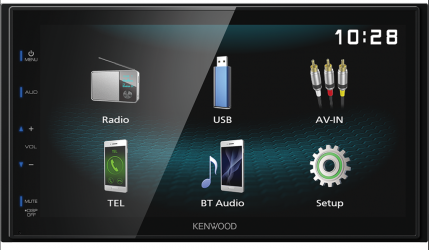 KENWOOD DMX 120 BT