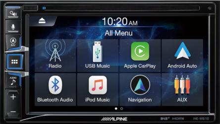ALPINE iNE-W 611DC